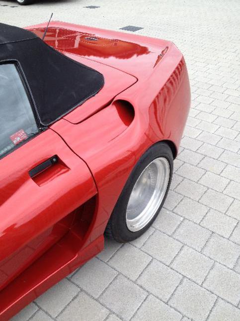 Cache on C4 Corvette Body Parts